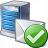 Mail Server Ok Icon 48x48