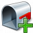 Mailbox Empty Add Icon 48x48