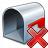 Mailbox Empty Delete Icon 48x48
