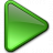 Media Play Green Icon 48x48