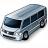 Minibus Grey Icon 48x48