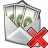 Money Envelope Delete Icon 48x48