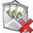 Money Envelope Delete Icon 48x48