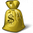 Moneybag Dollar Icon 48x48