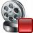 Movie Stop Icon 48x48