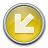 Nav Down Left Yellow Icon 48x48