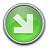 Nav Down Right Green Icon 48x48