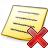 Note Delete Icon 48x48