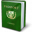 Passport Green Icon 48x48