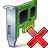 Pci Card Delete Icon 48x48