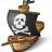 Pirates Ship Icon 48x48