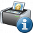 Printer 3 Information Icon 48x48