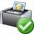 Printer 3 Ok Icon 48x48
