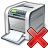 Printer Delete Icon 48x48