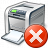 Printer Error Icon 48x48