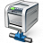 Printer Network Icon 48x48