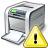 Printer Warning Icon 48x48