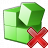 Registry Delete Icon 48x48