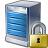 Server Lock Icon 48x48