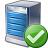 Server Ok Icon 48x48