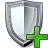 Shield Add Icon 48x48
