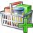 Shopping Basket Add Icon 48x48