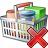 Shopping Basket Delete Icon 48x48