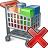 Shopping Cart Delete Icon 48x48