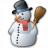 Snowman Icon 48x48