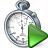 Stopwatch Run Icon 48x48