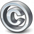 Symbol Copyright Icon 48x48