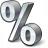 Symbol Percent Icon 48x48