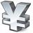 Symbol Yen Icon 48x48