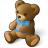 Teddy Bear Icon 48x48