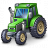 Tractor Green Icon 48x48