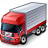Truck Red Icon 48x48