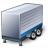Truck Trailer Blue Icon 48x48