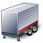 Truck Trailer Red Icon 48x48