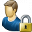 User Lock Icon 48x48