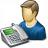 User Telephone Icon 48x48