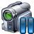 Videocamera Pause Icon 48x48