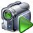Videocamera Run Icon 48x48