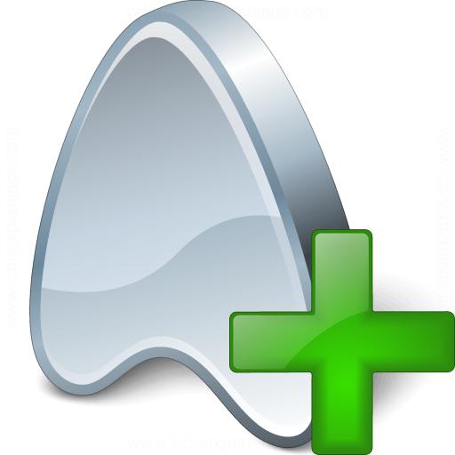 Application Add Icon
