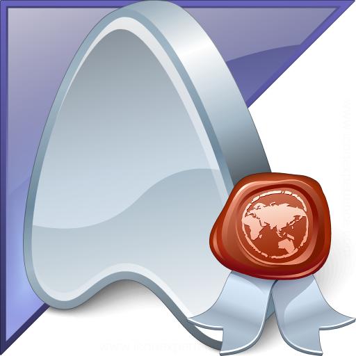 Application Enterprise Certificate Icon