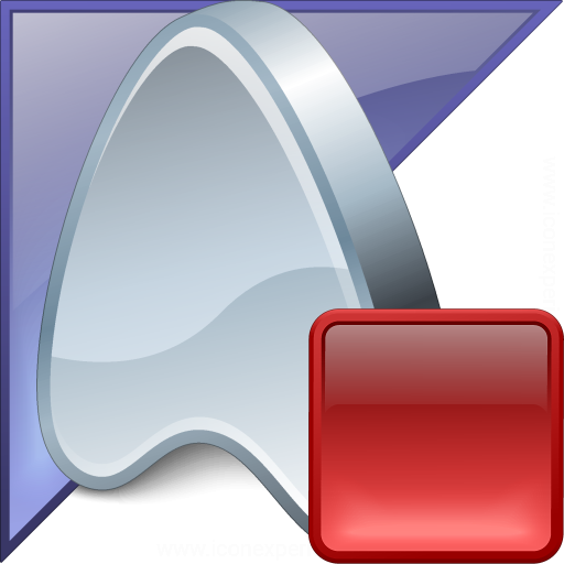Application Enterprise Stop Icon