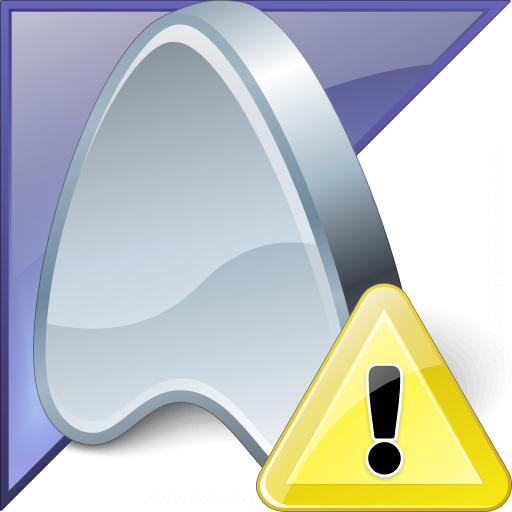 Application Enterprise Warning Icon