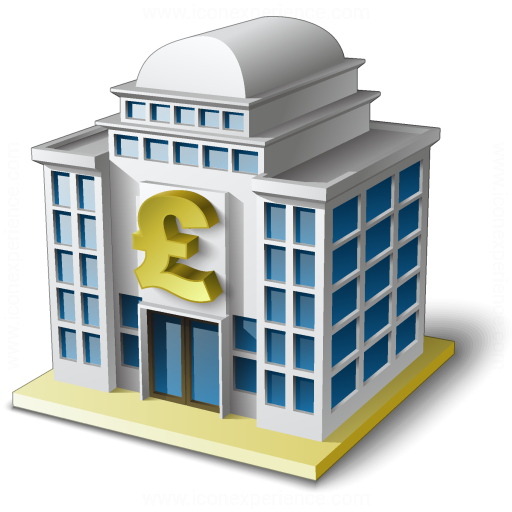 Bank House 2 Pound Icon