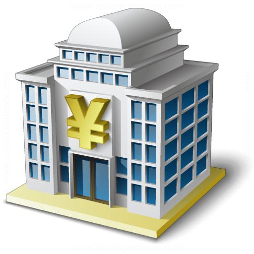Bank House 2 Yen Icon