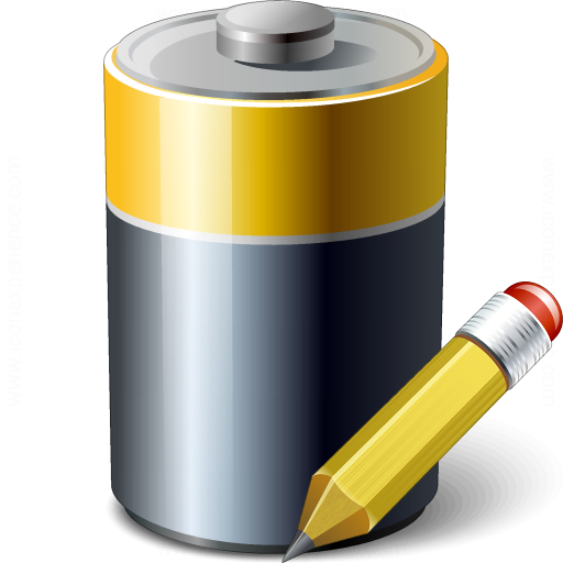 Battery Edit Icon