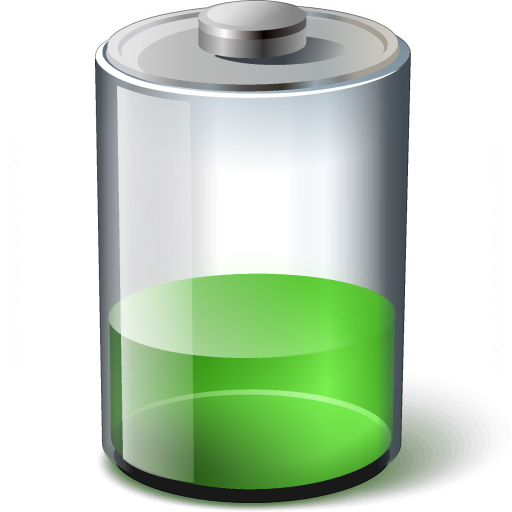 Battery Green 33 Icon
